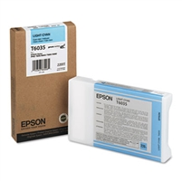 Epson UltraChrome K3 Ink Light Cyan 220ml for Stylus Pro 7800, 7880, 9800, 9880 - T603500