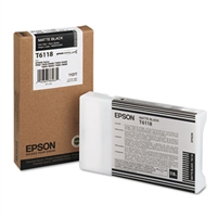Epson UltraChrome K3 Ink Matte Black 110ml for Stylus Pro 7800, 7880, 9800, 9880 - T611800