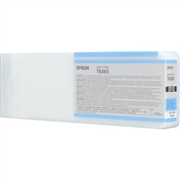 Epson UltraChrome HDR Ink Light Cyan 700ml for Stylus Pro 7890, 7900, 9890, 9900 - T636500
