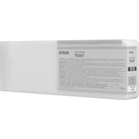 Epson UltraChrome HDR Ink Light Black 700ml for Stylus Pro 7890, 7900, 9890, 9900 - T636700