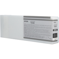 Epson UltraChrome HDR Ink Matte Black 700ml for Stylus Pro 7700, 7890, 7900, 9700, 9890, 9900 - T636800