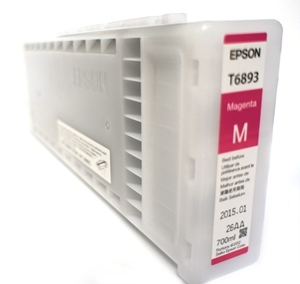 Epson UltraChrome GS2 Magenta Ink Cartridge 700ml for S30670, S50670, S50675, S30675 - T689300