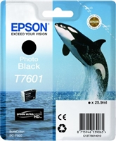 Epson 760 UltraChrome HD Photo Black Ink 25.9ml for SureColor P600 - T760120