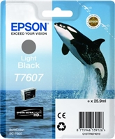 Epson 760 UltraChrome HD Light Black Ink 25.9ml for SureColor P600 - T760720