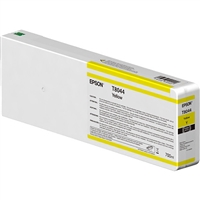 Epson UltraChrome HD 700mL Yellow Ink Cartridge for SureColor P6000, P7000, P8000, P9000 - T804400