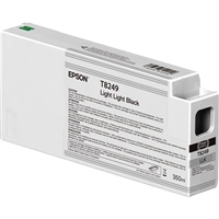 Epson UltraChrome HD 350mL Light Light Black Ink Cartridge for SureColor P6000, P7000, P8000, P9000 - T824900