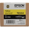 Epson UltraChrome HD Ink Cartridge 80ml For Epson SureColor P800 - Yellow
