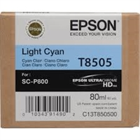Epson UltraChrome HD Ink Cartridge 80ml For Epson SureColor P800 - Light Cyan