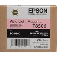Epson UltraChrome HD Ink Cartridge 80ml For Epson SureColor P800 - Light Magenta