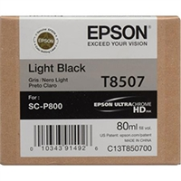 Epson UltraChrome HD Ink Cartridge 80ml For Epson SureColor P800 - Light Black