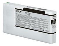 Epson Ultrachrome HD Photo Black Ink Cartridge 200ml for SureColor P5000 Printers - T913100
