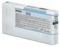 Epson Ultrachrome HD Light Cyan Ink Cartridge 200ml for SureColor P5000 Printers - T913500