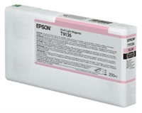 Epson Ultrachrome HD Vivid Light Magenta Ink Cartridge 200ml for SureColor P5000 Printers - T913600