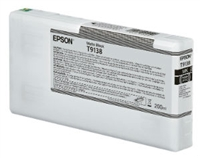 Epson Ultrachrome HD Matte Black Ink Cartridge 200ml for SureColor P5000 Printers - T913800