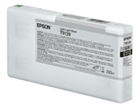 Epson Ultrachrome HD Light Light Black Ink Cartridge 200ml SureColor P5000 Printers NOT COMMERCIAL - T913900