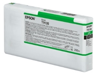 Epson Ultrachrome HDX Green Ink Cartridge 200ml for SureColor P5000 Printers - T913B00