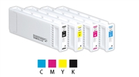 Epson UltraChrome GS3 MCS Black Ink Cartridge 700ml for SureColor S40600, S60600, S80600 - T922100