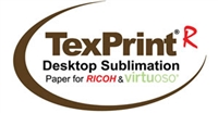 "TexPrint-R 120gsm Sublimation Paper 8.5""x11"" - 110 Sheets"