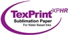 "Beaver TexPrintXP-HR 105gsm Sublimation Paper 44""x275' Roll"
