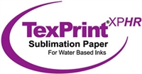 "TexPrintXP-HR 105gsm Sublimation Paper 17""x22"" - 110 Sheets"