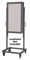 VLS-1 Stand Single Height - Can be combined w/single or multi-source luminaires