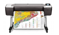 "Designjet T1700 44"" Wide Format Inkjet Printer"