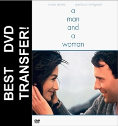 A Man And A Woman DVD 1966