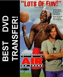 The Air Up There DVD 1994 Kevin Bacon