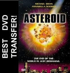 Asteroid DVD 1997 Michael Biehn TV Movie R1