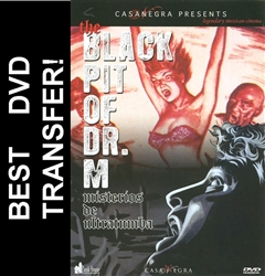 Black Pit Of Dr. M DVD 1959