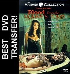Blood From The Mummys Tomb DVD 1971