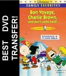 Bon Voyage Charlie Brown DVD 1980