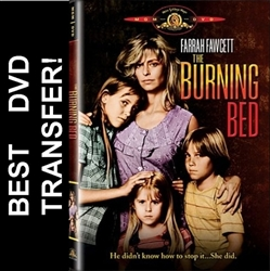 The Burning Bed with Farrah Fawcett on DVD 1984