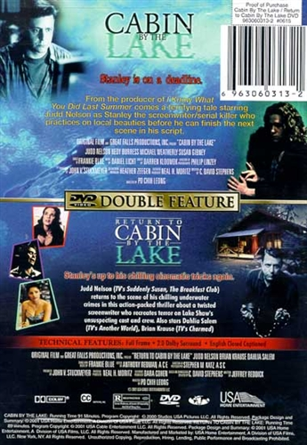 return to amp cabin by the lake dvd 2000 judd nelson 1599