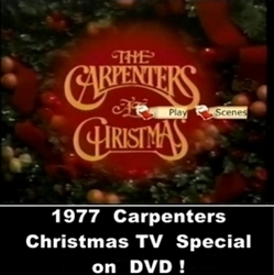 The Carpenters At Christmas DVD 1977