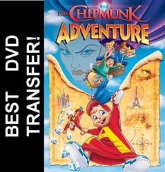 Alvin And The Chipmunk Adventure DVD 1987 Ross Bagdasarian