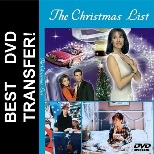 The Christmas List Mimi Rogers 2020 The Christmas List DVD 1997 $8.99 Mimi Rogers BUY NOW   RareDVDs.Biz