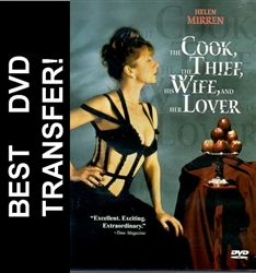 Cook Thief Wife Lover DVD 1989