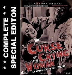 Curse Of The Crying Woman DVD 1963
