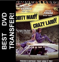 Dirty Mary Crazy Larry DVD 1974