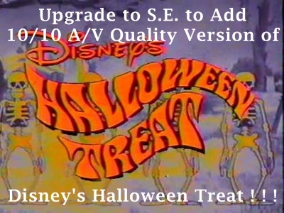 Once Upon A Disney Halloween DVD 2000 R1