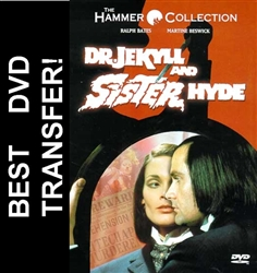 Dr. Jekyll and Sister Hyde DVD 1971