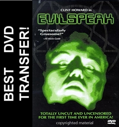 Evil Speak Evilspeak DVD 1981