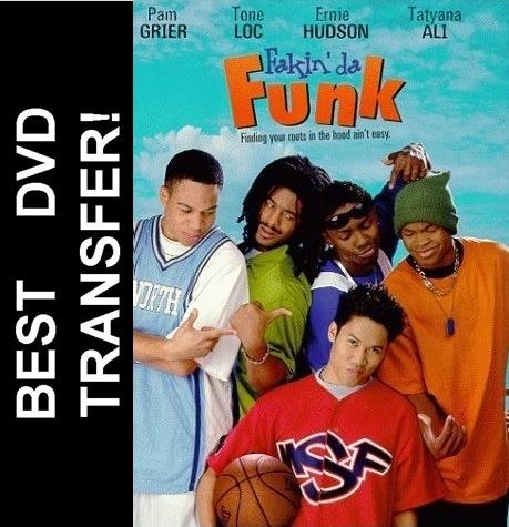 fakin da funk dvd 1997 dante basco pam grier ernie hudson