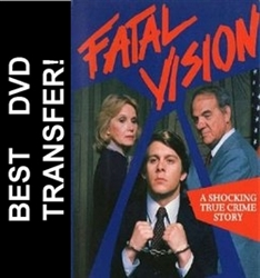 Fatal Vision DVD 1984 Karl Malden Eva Marie Saint TV movie