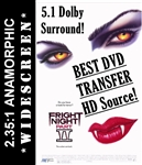 Fright Night Part II 2 DVD 1988