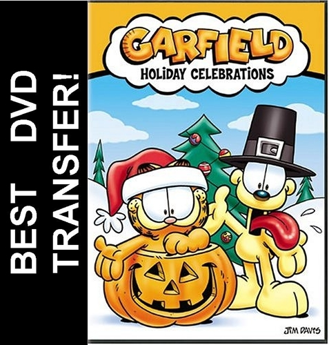 garfield holiday celebrations dvd 2004 larger photo email a friend