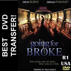 Going For Broke DVD 2003 Delta Burke