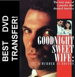 Goodnight Sweet Wife A Murder In Boston DVD 1990