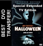 Halloween Extended Edition TV DVD 1978